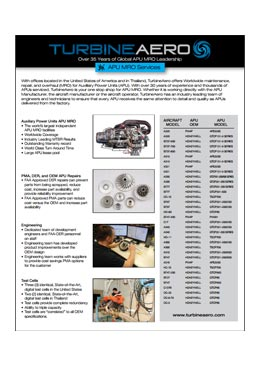 Download APU MRO Services Brochure