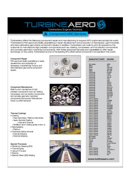 Download TurbineAero Engines Technics Brochure