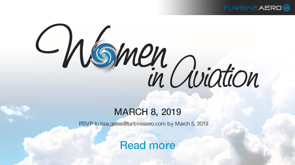 Women In Aviation Day at TurbineAero